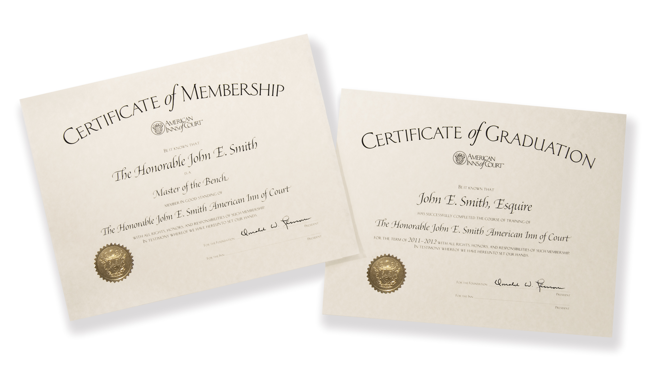Plaques and membership certificates membership certificates are great for distinguishing all levels of inn membership graduation certificates recognize members as they complete their terms as xflitez Images